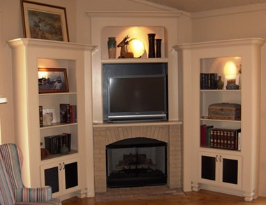 Entertainment Systems - Book Cases